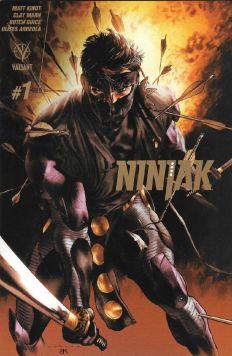 Ninjak #1 Gold